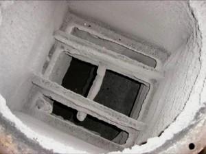 某ゴム加工会社:シリコン塗装ブース排気ダクト