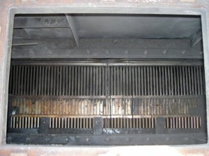 プレート型熱交換器 作業後