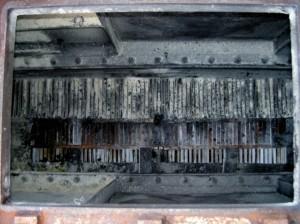 プレート型熱交換器 作業前